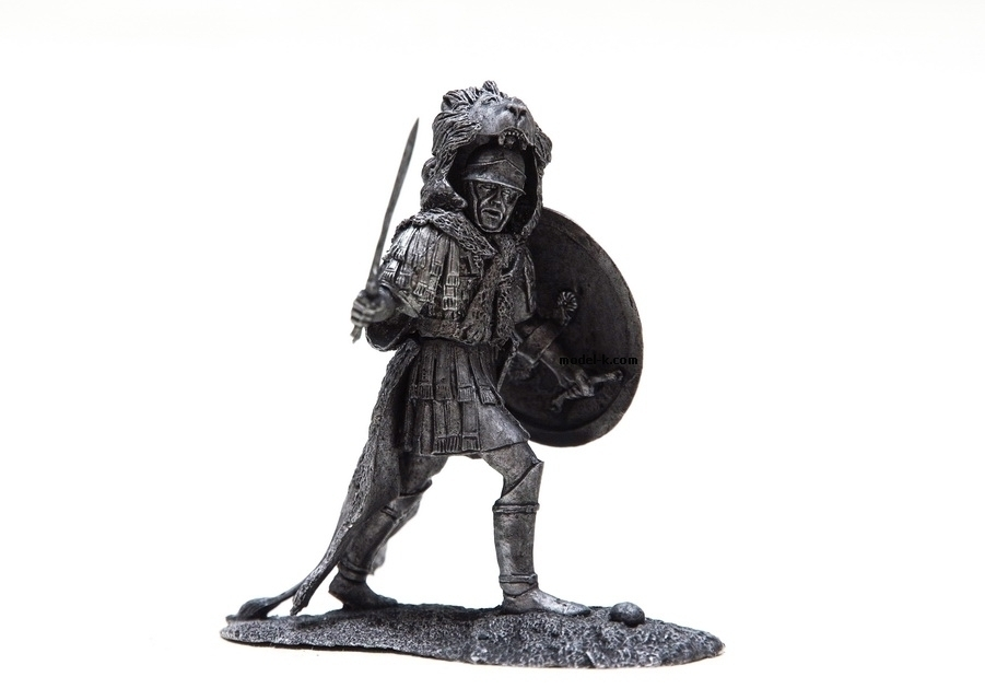 1:32 Scale Metal Miniature of Punic Officer