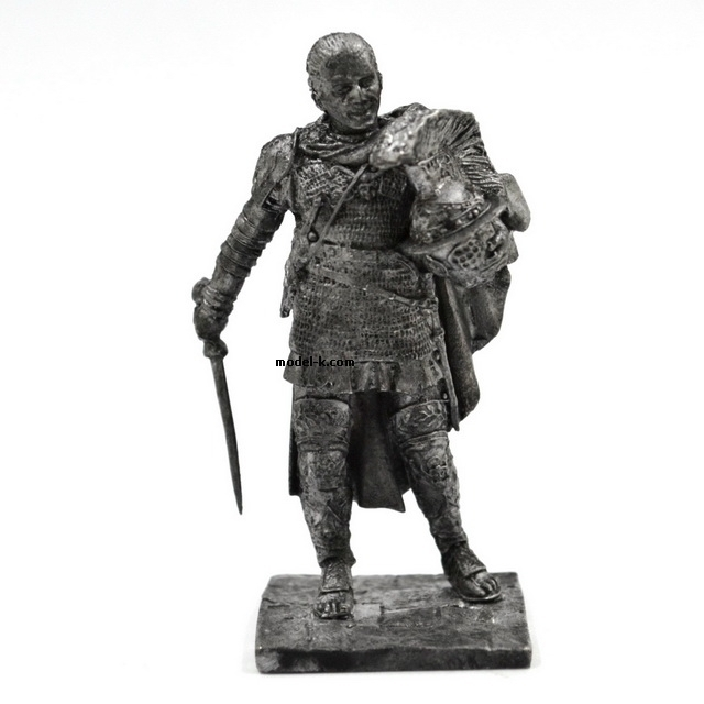 1:32 Scale Metal Figure of Spartacus - the leader of the gladiators
