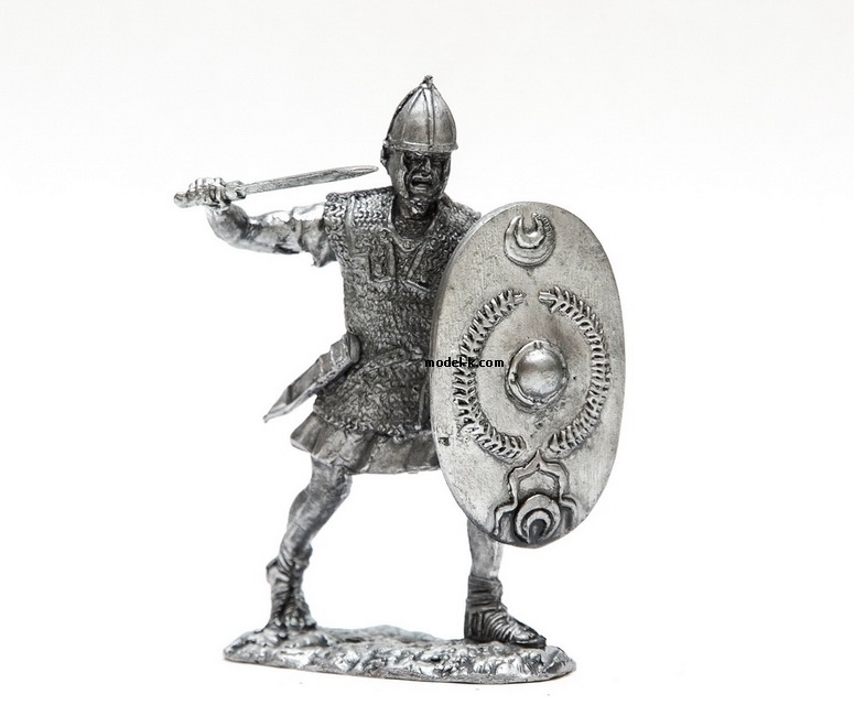 1:32 Scale Metal Miniature of Tin 54mm Rome. Legionare of Republican Army
