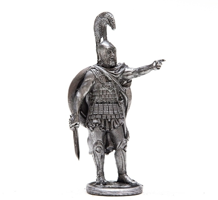 54mm tin figurine Athenian hoplite 1:32 Scale
