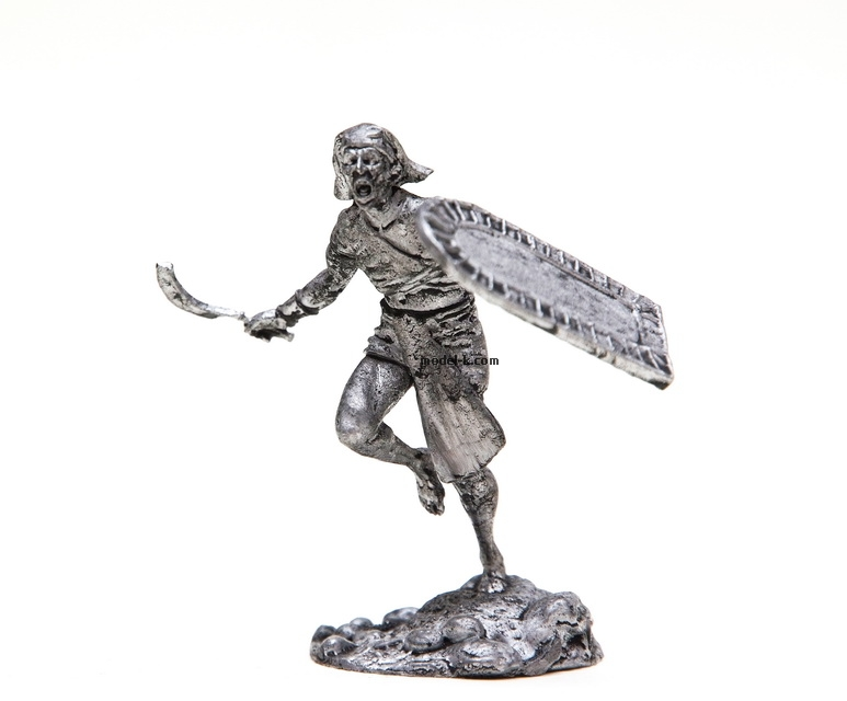 1:32 Scale Metal Miniature of Egyptian Infantryman
