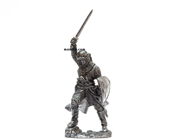 Unpainted 54mm Figure of Crusade Warrior