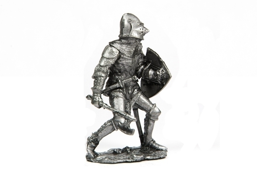 tin 54mm castings. Teutonic Knight Figurine