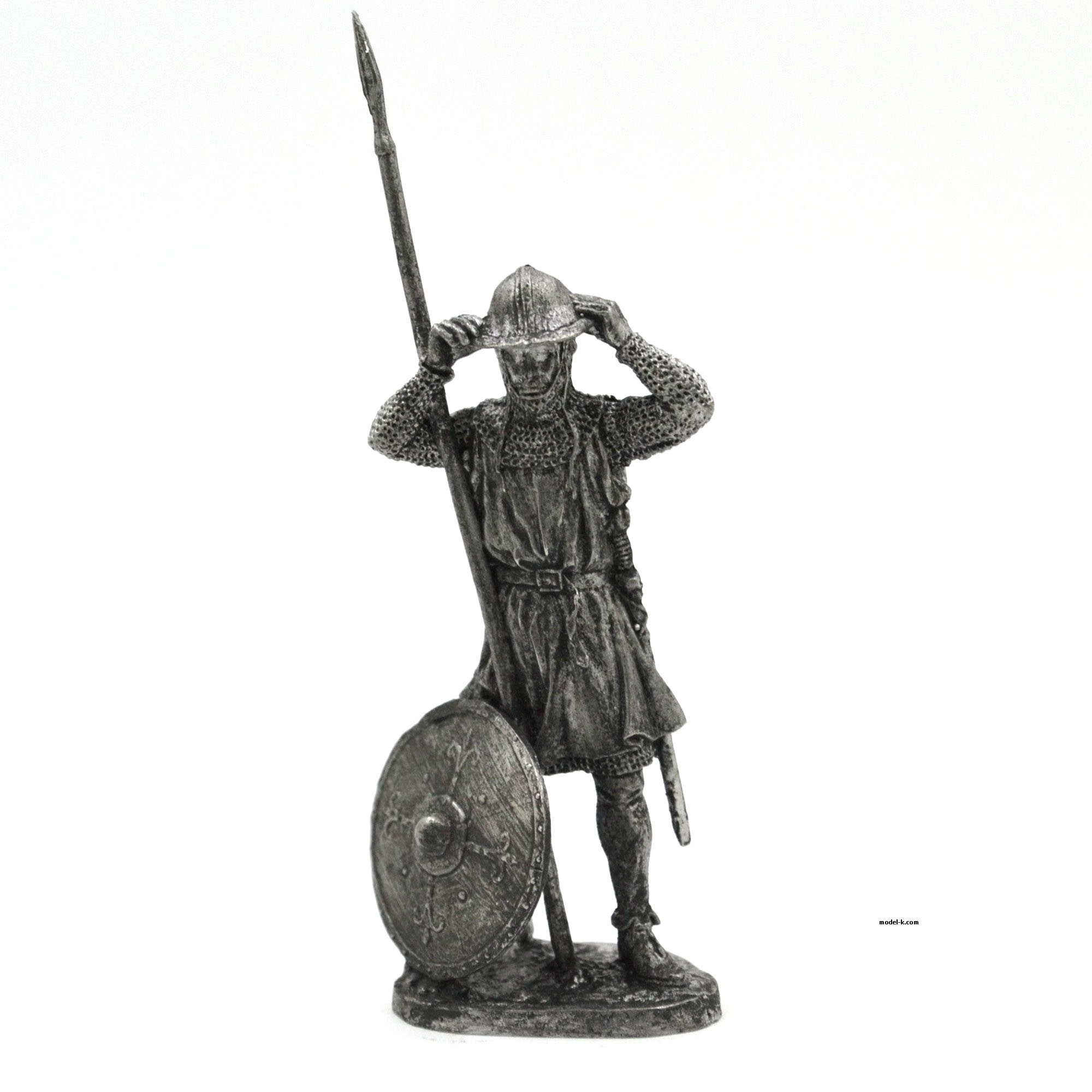 Infantryman. Europe 54mm tin figure