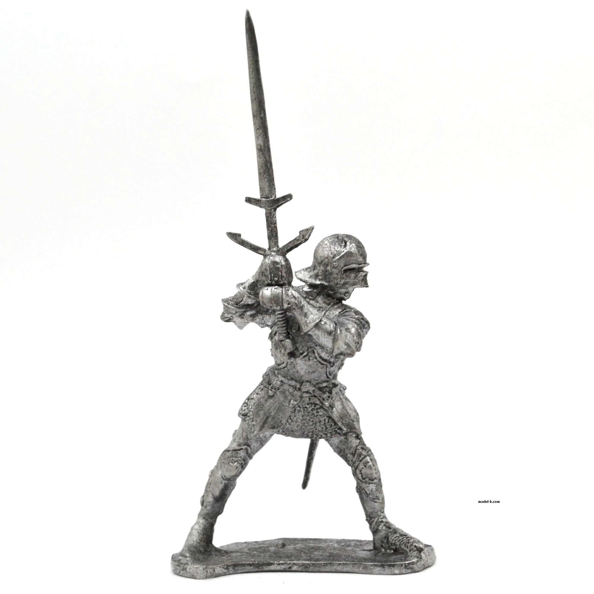tin 54mm Figurine French Knight 54mm tin figure