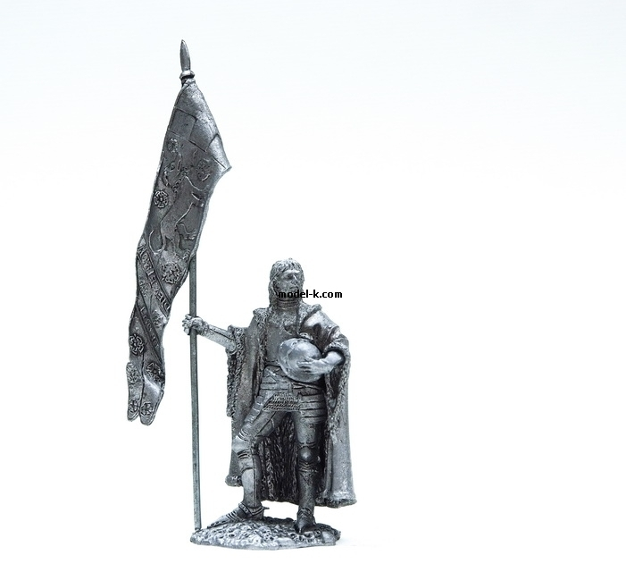 England Knight. Lancaster Banner 1:32 scale warrior