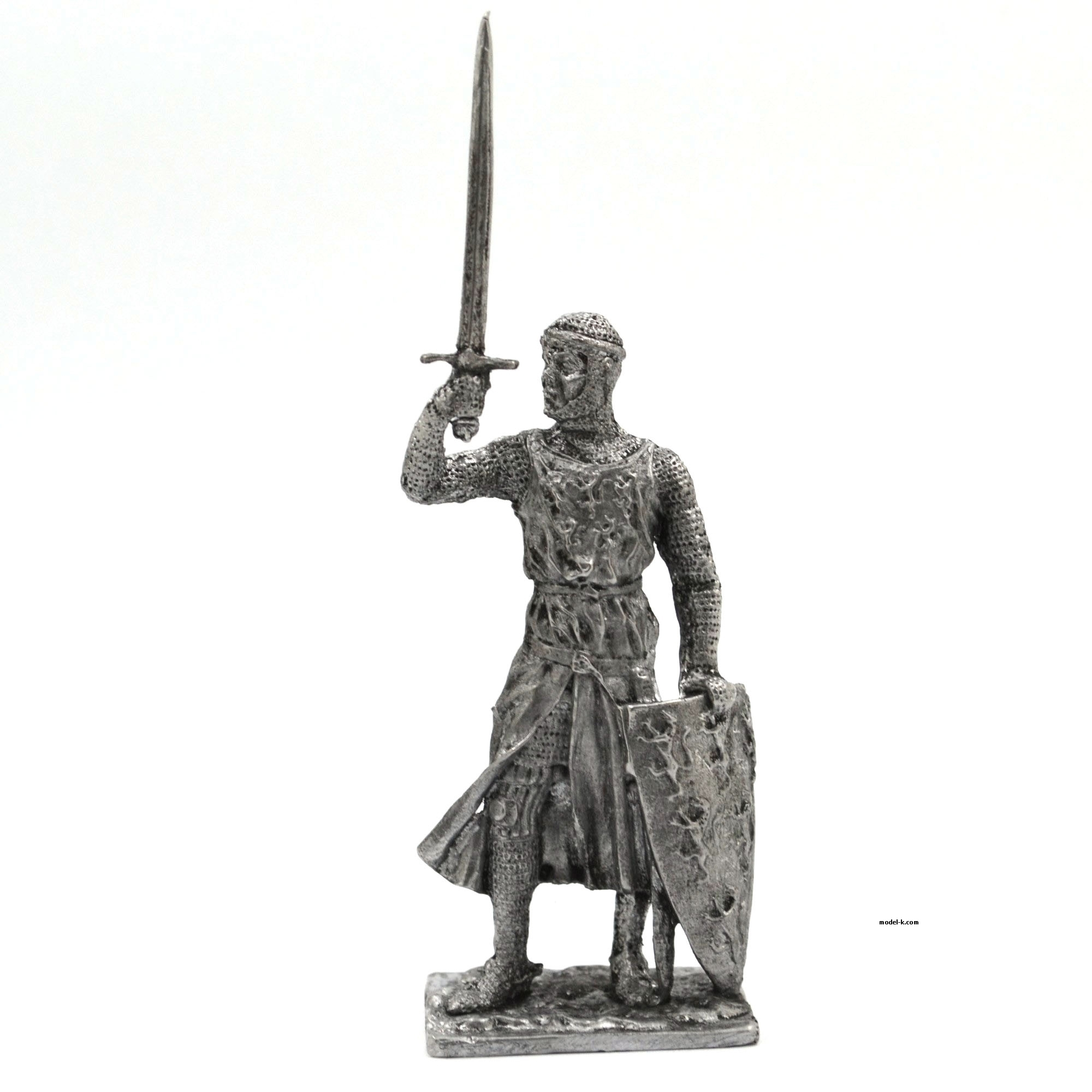 William Longespee 54mm tin figure