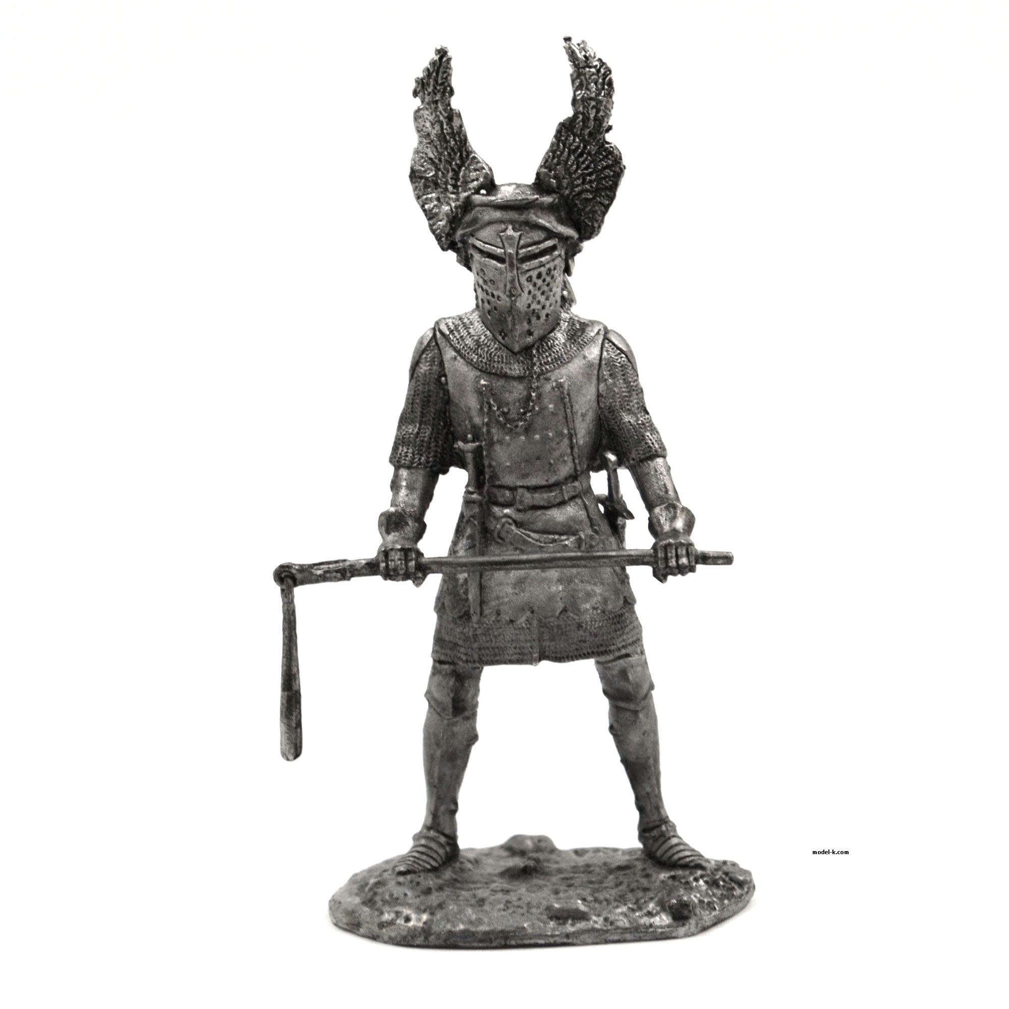 Germany Knight with chain 54mm tin figure