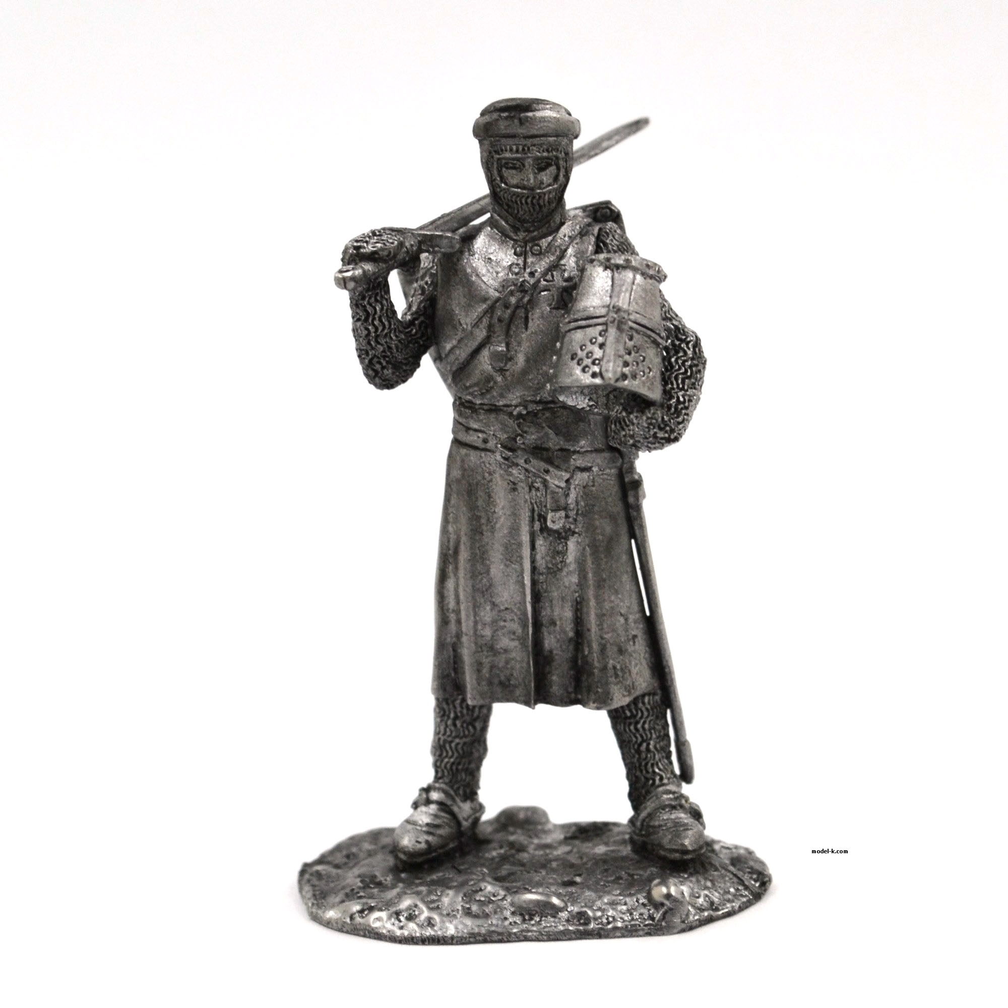 Teutonic Grand Master 1:32 scale warrior