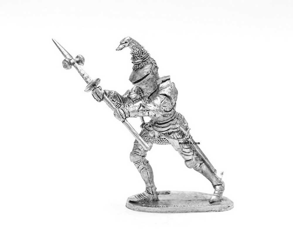 54mm Tin Castings Figurine of Richard de Beauchamp