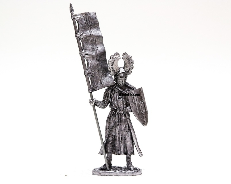 1:32 tin figure Crusades. Elector of Saxony