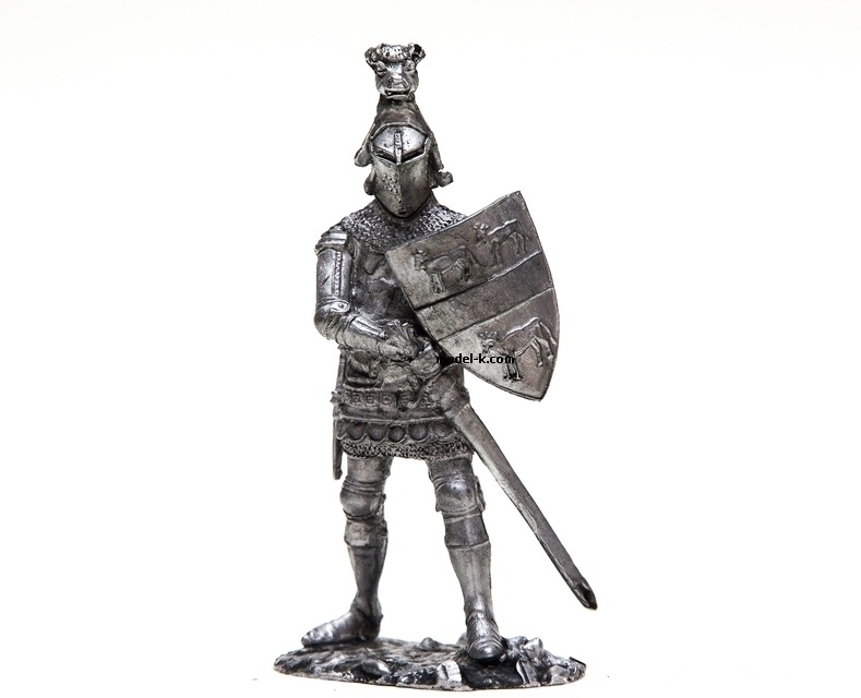 1:32 tin figurine Hugo Kalvli. Sheriff of Calais 54mm