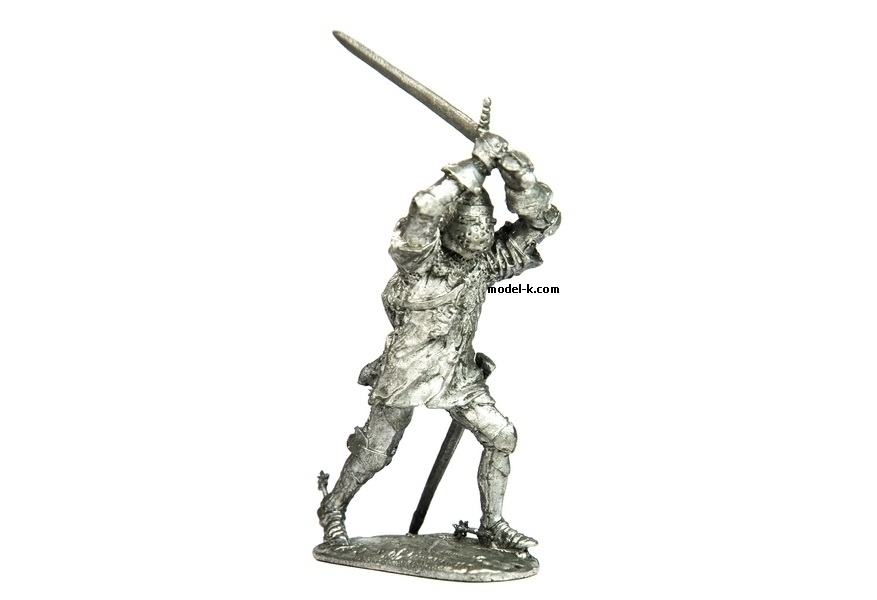 Jean of Luxembourg tin 54mm soldier