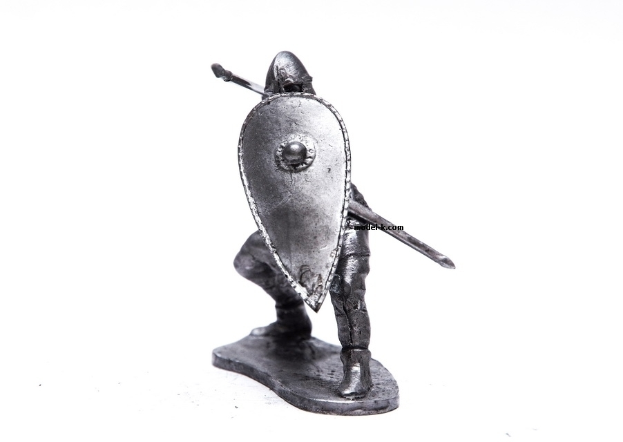 54mm tin figurine of Ruthenia bodyguard