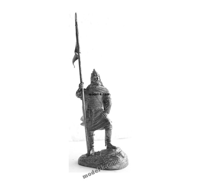 54mm tin toy metal castings. Oleg of Novgorod was a Varangian prince (or konung) who ruled all or part of the Rus' people during the early 10th century.