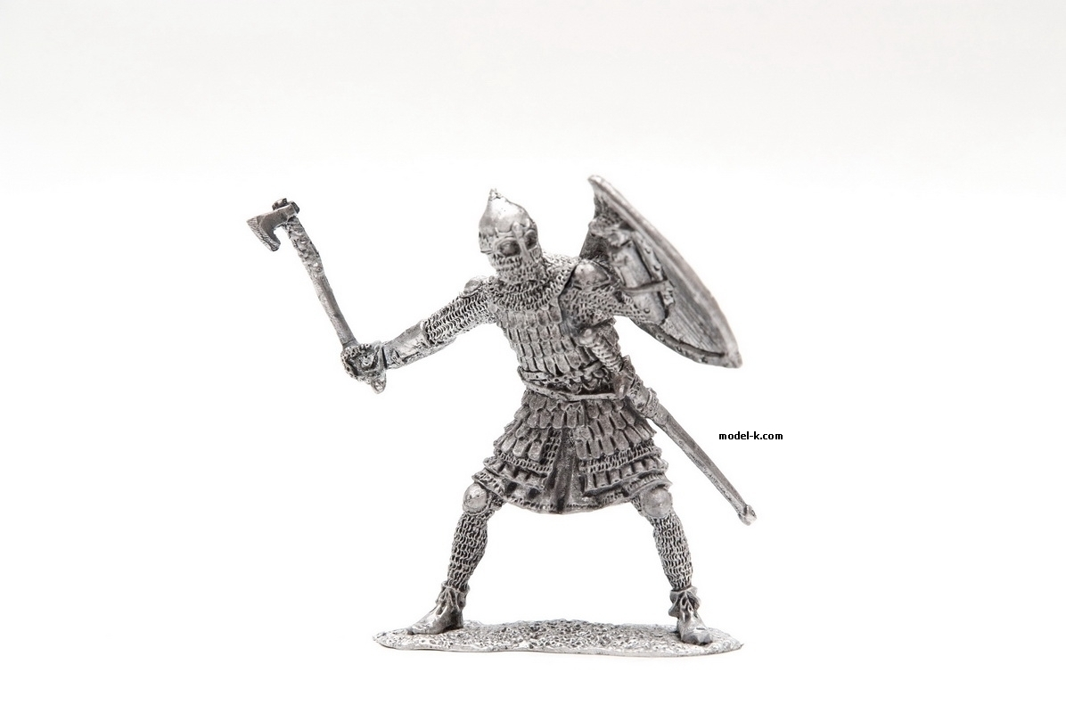 54mm figure of Russian Warrior