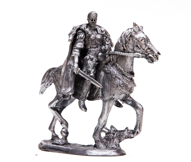 tin 54mm General Maximu of horse turma