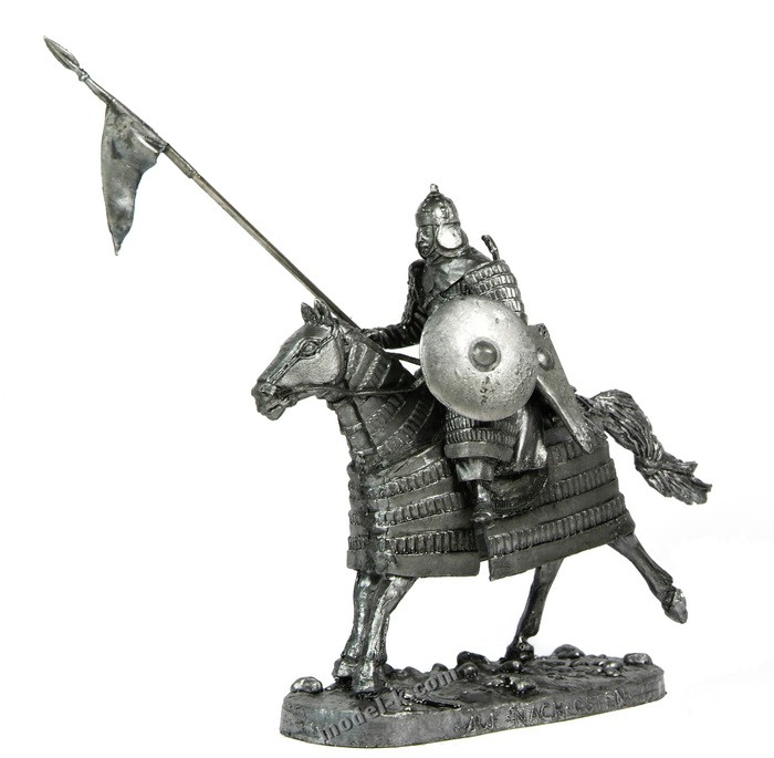 tin 54mm Mongol heavy cavalry