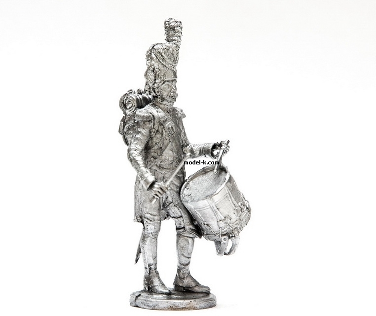 1:32 Scale Metal Miniature of  France Guard Drummer