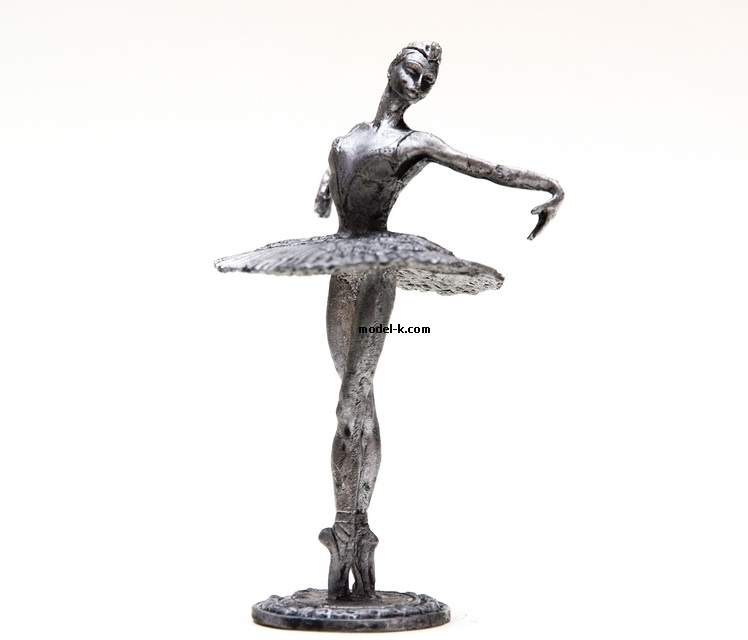 1:32 Scale Metal Miniature of USSR Ballerina