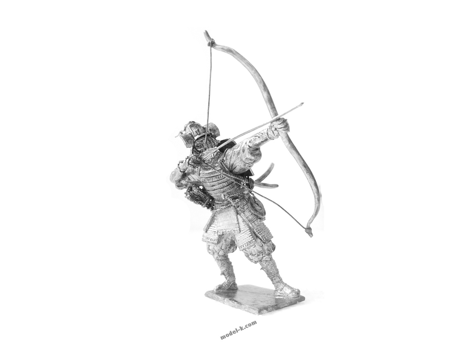75mm tin figurine Japan Archer