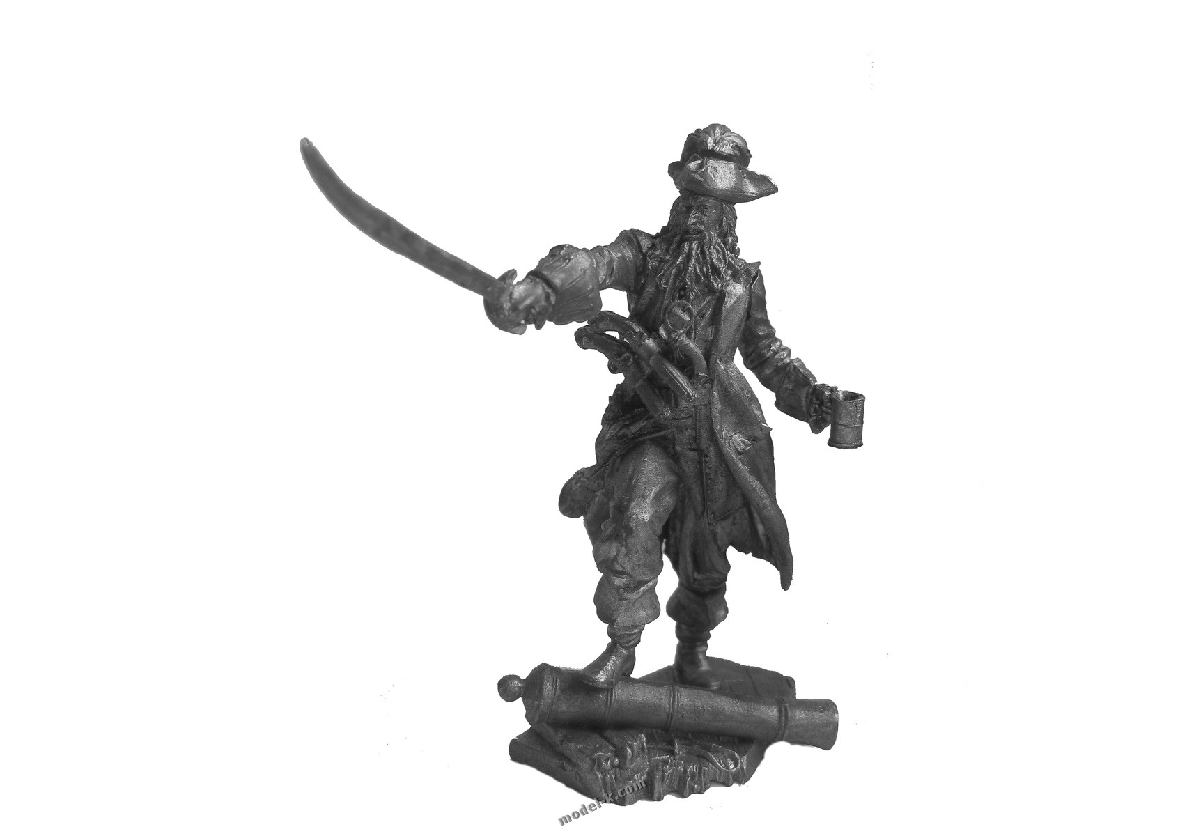 75mm Black Beard Pirate