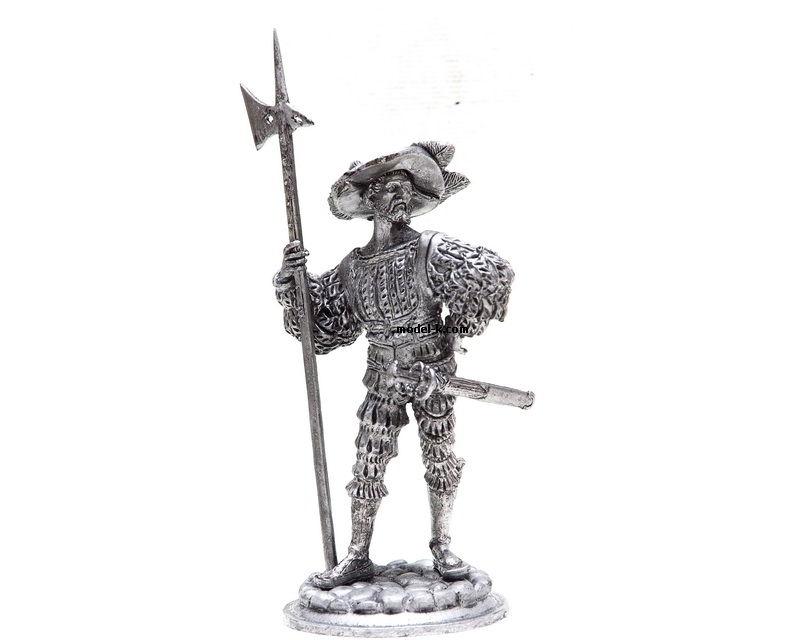 Metal Castings Figure of Landsknecht 1:18 Scale Figurine