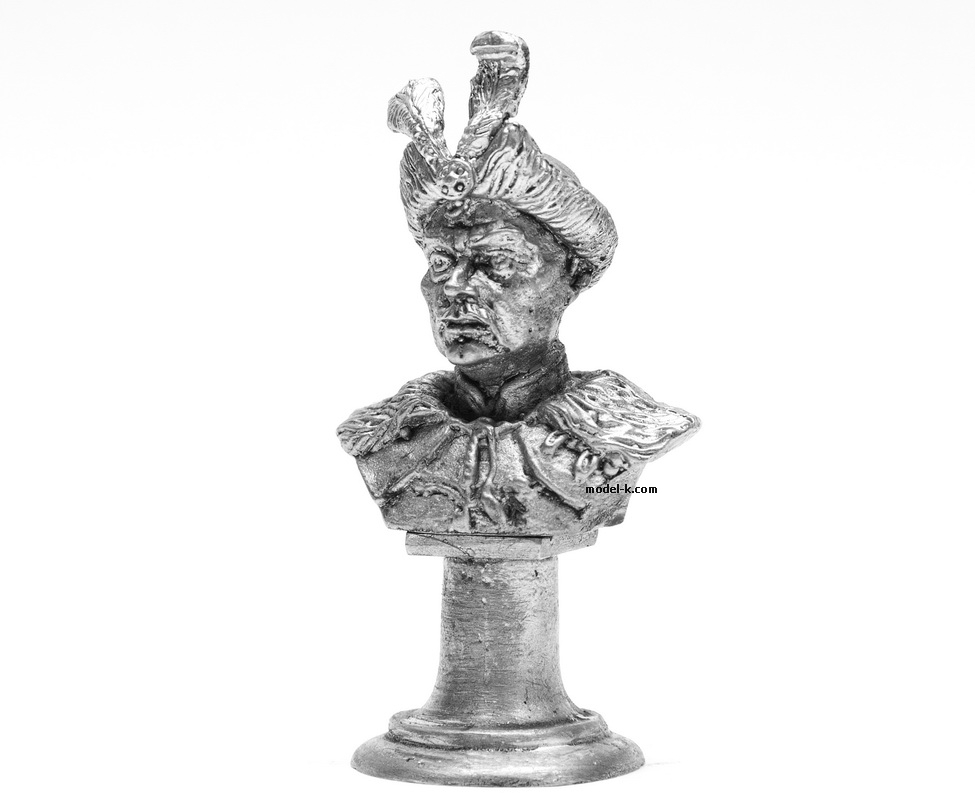 70mm High Scale Bust of Bohdan Khmelnytsky