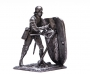 Tin 1:32 Figure of Knight with haldberd