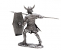 54mm tin toy sculpture of Viking warrior