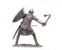 54mm figure of Russian Warrior with mace 1:32 Scale