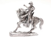 Figure on horse. Scale 1/32. Knight of Templars.