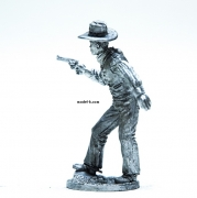 Metal Figurine of the Cowboy tin 54mm figure