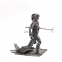 75mm Scale Metal Figure of  Gladiator